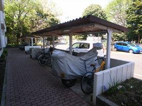敷地内に駐輪場も完備です!