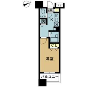 スカイコート八王子第511階Fの間取り画像