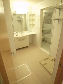 洗面所でこの広さ!