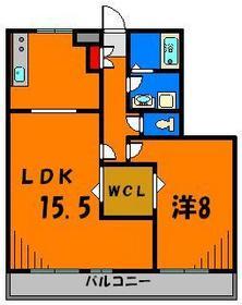 ひろいリビングに広めのお部屋 収納もばっちり!