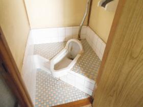 和式トイレです!