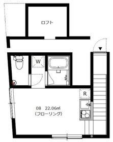 Orbit駒沢2階Fの間取り画像