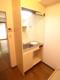 単身サイズのキッチン