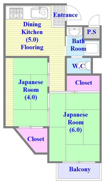 和室のあるゆったりした間取です。一度ご覧ください。
