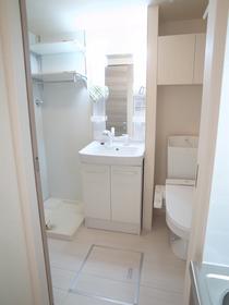 独立した洗面スペースが嬉しですね