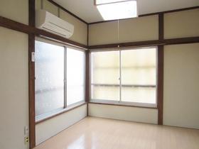 角部屋の2面採光で明るい室内です。