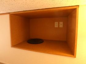 ロフトの収納スペース