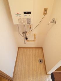 室内洗濯機置き場☆