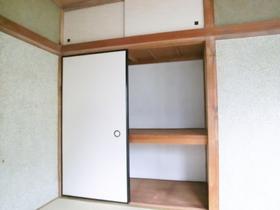 ゆとりの収納スペースです。