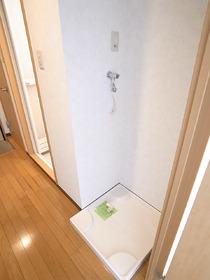 もちろん洗濯機は室内です☆