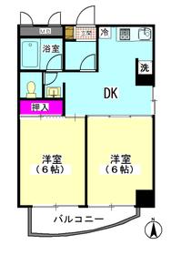 パークハイムD 303号室