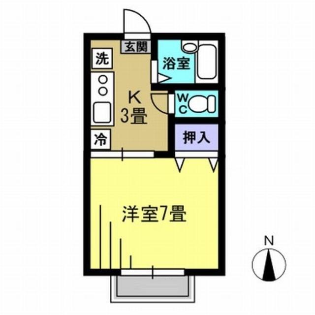 K3帖・洋室7帖