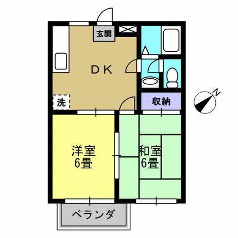 2DK DK8 洋6 和6
