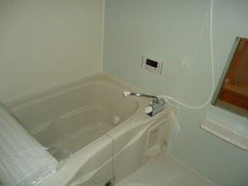自動湯張り機能付きバス