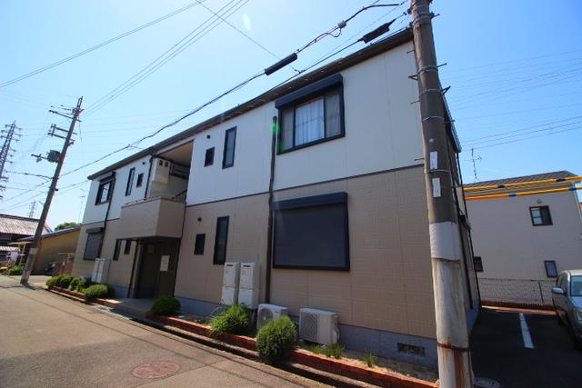 大阪府茨木市太田の賃貸アパートの外観