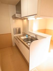 キッチンも広くて使いやすいタイプですし、