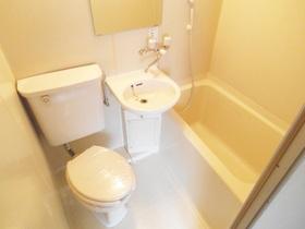 バスルームはユニットです!