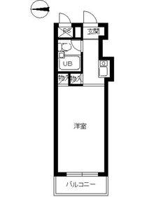 スカイコート宮崎台4階Fの間取り画像