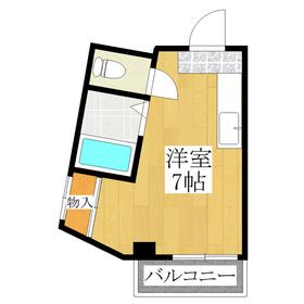 バス・トイレ別☆広めのワンルーム☆