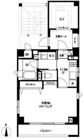 目黒青葉台レジデンス3階Fの間取り画像