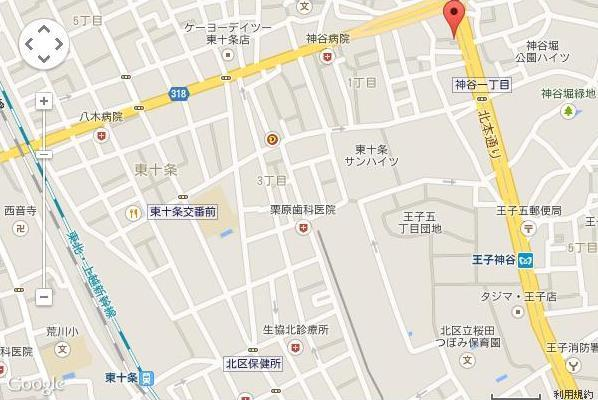 王子神谷駅徒歩6分!