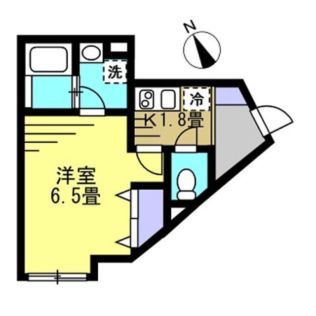 K1.8帖・洋6.5帖