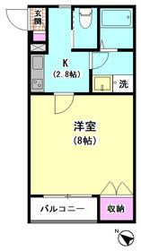 シエール羽田伍番館 203号室