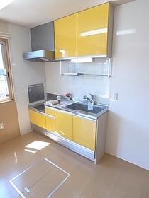 収納もたっぷりなキッチンです♪
