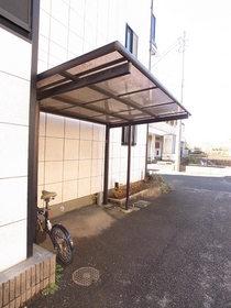 屋根付の駐輪スペース☆