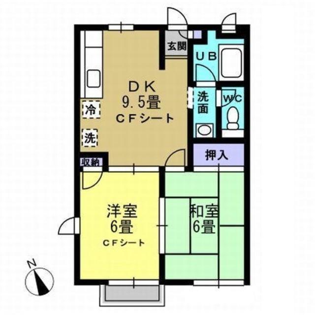 DK9.5帖・洋室6帖・和室6帖