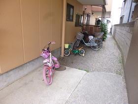 自転車置けます☆