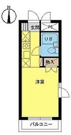 スカイコート東武練馬1階Fの間取り画像