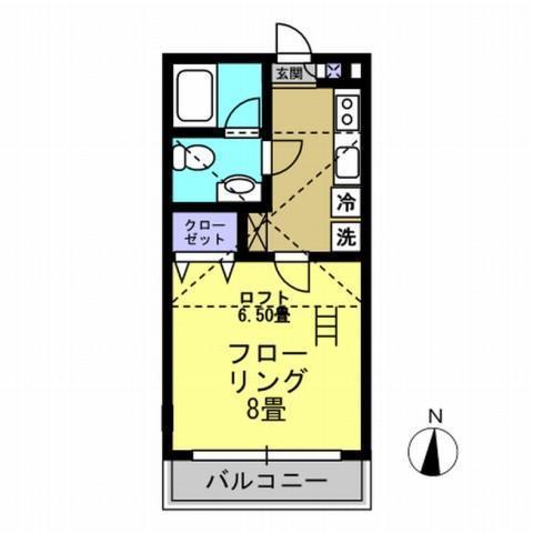洋室8帖 ロフト6.5帖 キッチン