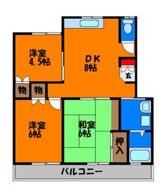 和室×洋室揃ったお部屋です☆