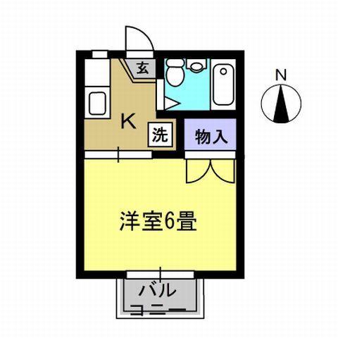 洋室6帖 キッチン