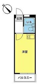 スカイピア葛西第32階Fの間取り画像