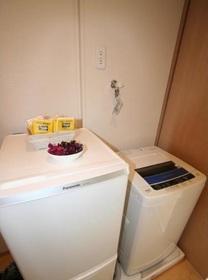 洗濯機・冷蔵庫付