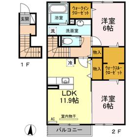 アパート/愛媛県新居浜市萩生 Image