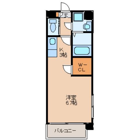 洋室6.7 キッチン3