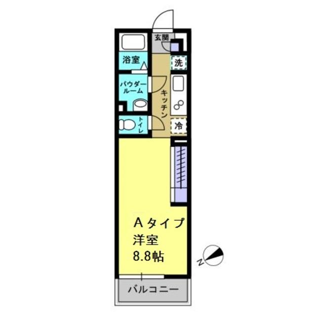 洋室8.8帖