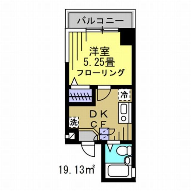 DK4帖、洋室5.25帖