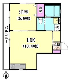 マグノリア常盤�U(仮)大森北3丁目メゾン 201号室