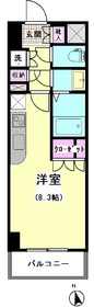 エスティメゾン大井仙台坂 205号室