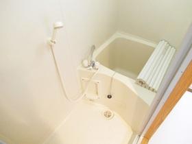 コンパクトタイプのバスルーム!