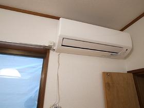 いいエアコンをオーナー様が入れてくれました☆