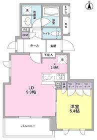 サンシャイン松本1階Fの間取り画像