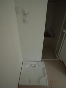 室内洗濯機置場がイイですね!