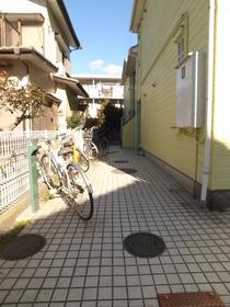 敷地内に自転車止められます!