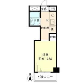 メゾンドール 206号室