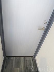 各居室にも鍵付のドアがあります☆